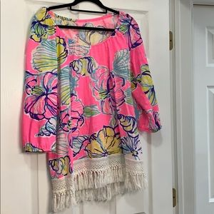 Lilly Pulitzer Alia Swept by the tides Large